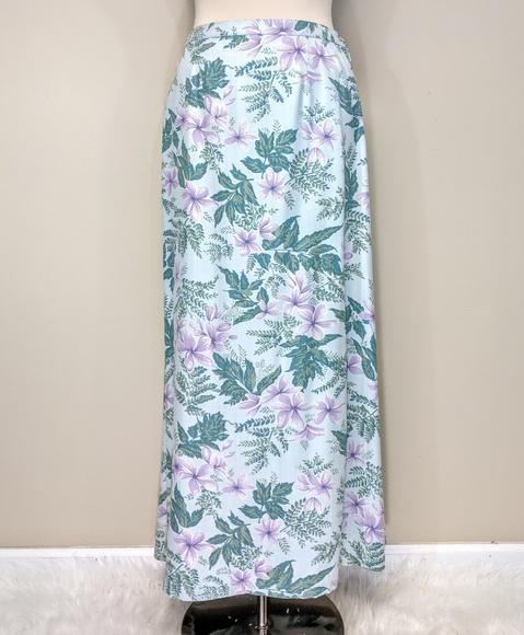 Tommy Bahama Dresses & Skirts - Tomh Bahama Silk Floral Maxi Skirt
